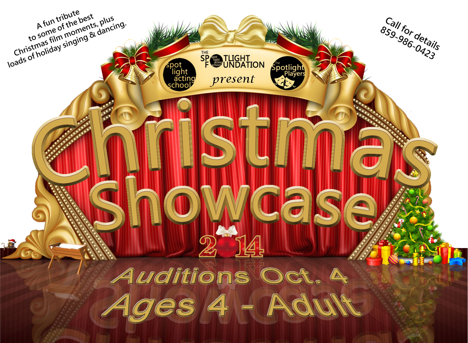Christmas Showcase 2014 Auditions October 4th
