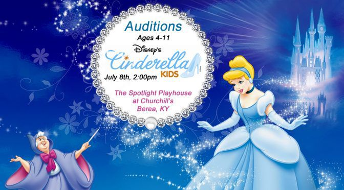 Disney's Cinderella Kids Ages 4-11