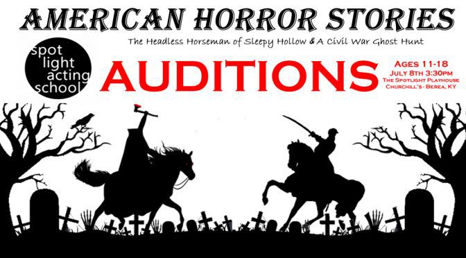 American Horror Stories Auditions Ages 11-18