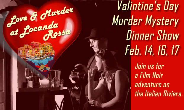 Love & Murder at Locanda Rossa – Murder Mystery Dinner Show
